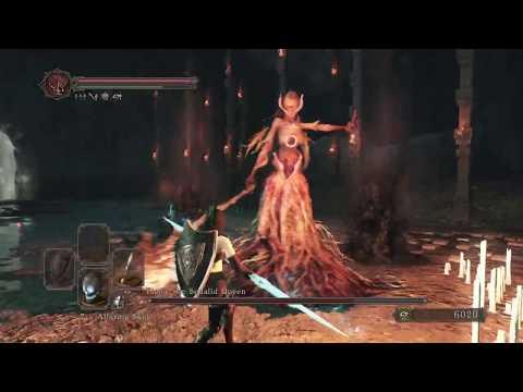 Dark Souls 2 - Elana, The Squalid Queen ( Quick Kill /No Damage )