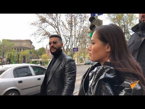 Тимати прогулялся по Еревану
