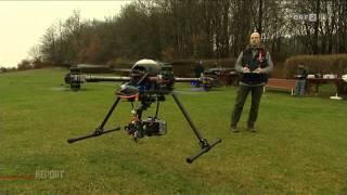 20131127 ORF2 HD  Report fliegende Dronen