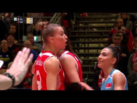 Poland vs Turkey FULL MATCH - CEV Tokyo Volleyball European Qualification 2020 - Women Semifinals