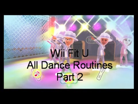 Wii Fit U: All Dance Routines Part 2 (Nintendo Wii U)
