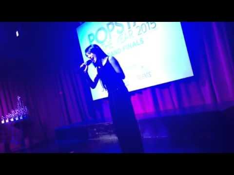 Melissa Hecker - PopStar of the Year - singing