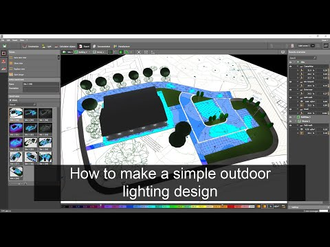 How To Make A Simple Outdoor Lighting Design