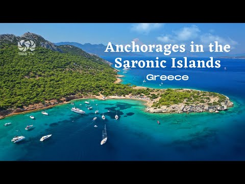 Popular Anchorages in the Saronic Islands, Greece