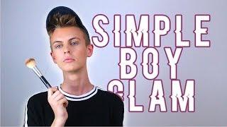 SIMPLE BOY GLAM!