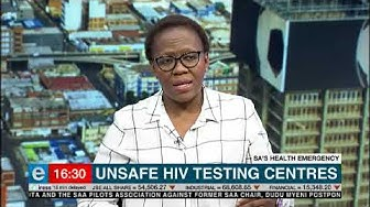 Unsafe HIV testing centres