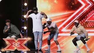 Knock Knock. Who's there? Rak-Su! | Boot Camp | The X Factor 2017