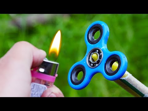 Thumbnail: EXPERIMENT FIDGET SPINNER VS ROCKET