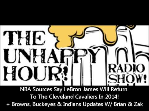 NBA Sources Say LeBron James Returns To The Cleveland Cavaliers In 2014. Brian & Zak Discuss.