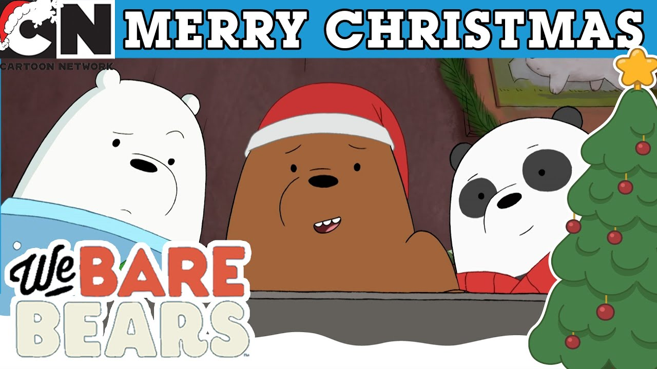 We Bare Bears   Christmas Parties   Cartoon Network UK🇬🇧