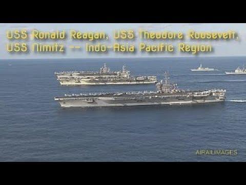 Three Aircraft Carrier Fleet - 12 Nov 2017