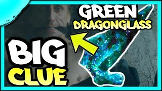 most fans are ignoring this HUGE CLUE (Jon Snow was pulled away from Green Dragonglass!!)