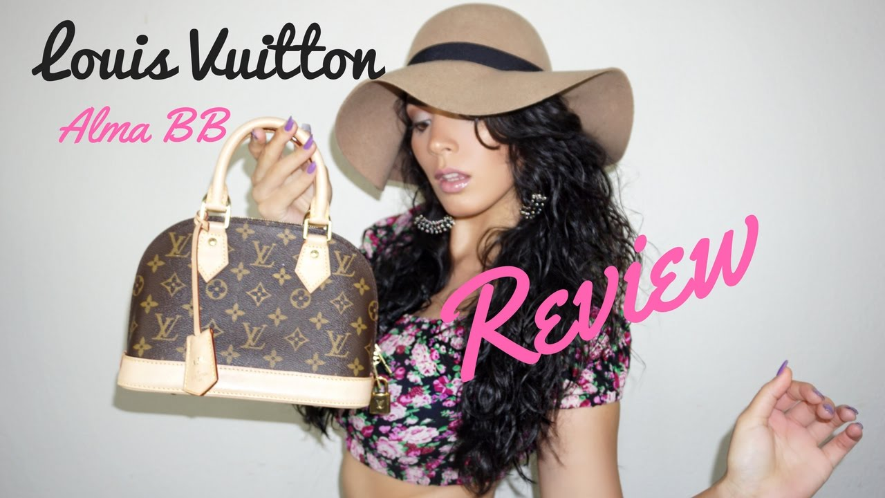 Louis Vuitton Alma Bb Monogram Review Maejanaebeauty Youtube