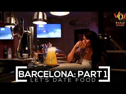 Let's Date Food In Barcelona: Part 1 | Ft. Darshanaa Gahatraj | World Culture Network
