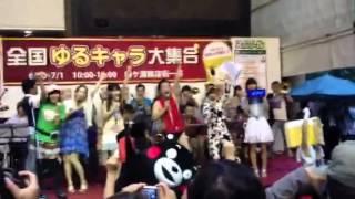 2012年7月1日 柳ヶ瀬商店街が登場して123周年を記念して行われたイベン...