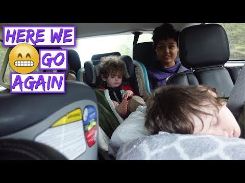 Traveling Through 10 STATES With 5 KIDS 😬