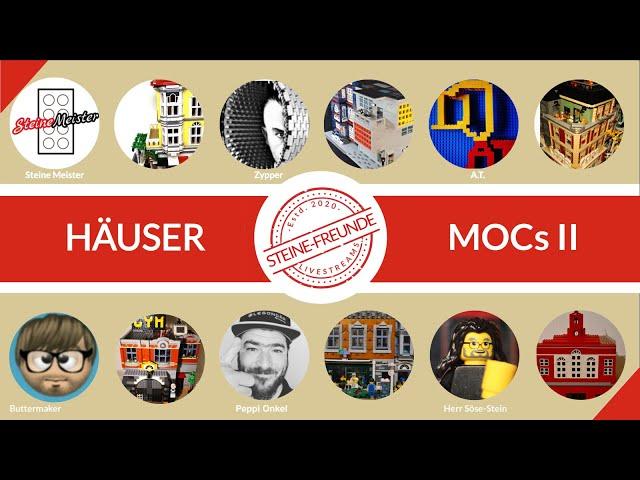 Häuser MOCS 2: Schöne Häuser, coole Kerle und Tipps, was will man mehr für einen Abend.