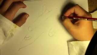 How to draw: SR-71 blackbird