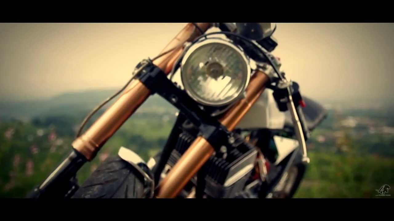 cafe racer | rd 350 | moto exotica | la productions - youtube