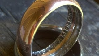How To Make a Ring with a Coin in home (AMAZING)(, 2013-05-31T21:45:01.000Z)