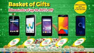 Safaricom Basket of Gifts. #NaweKilaWakati