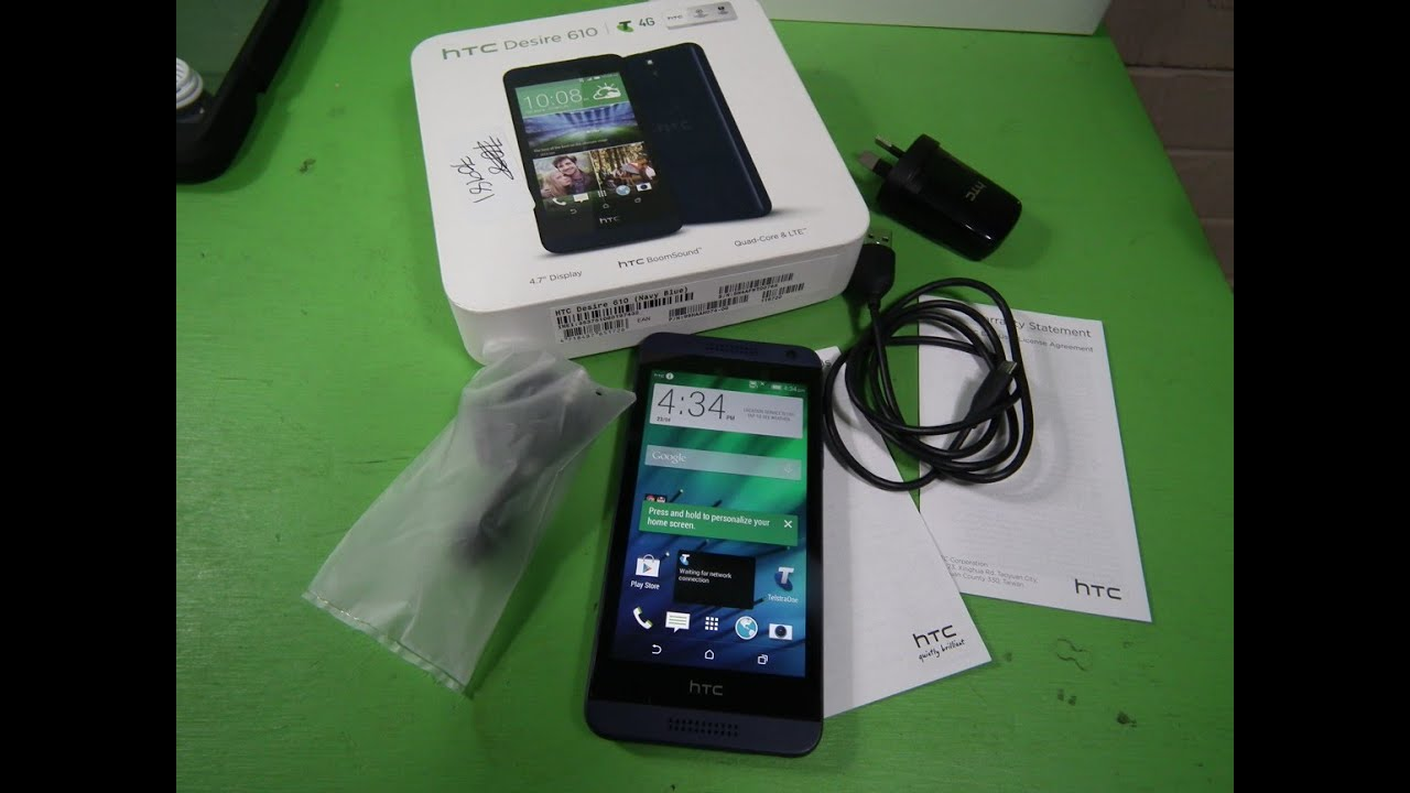 The htc desire 610 smartphone comes with a memory of 8 gb and supports microsd flash cards. With its 8 mp camera, pictures and videos turn out vivid and.