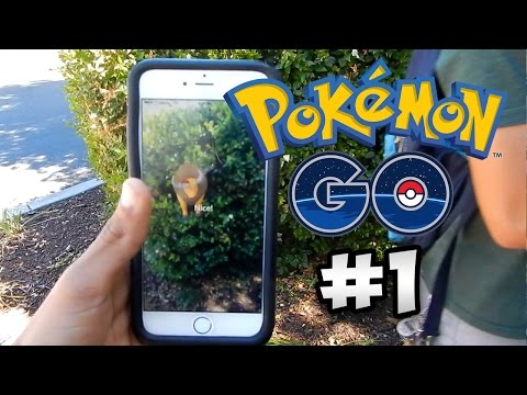 Let's Play Pokemon Go: REAL LIFE ADVENTURES | Episode 1