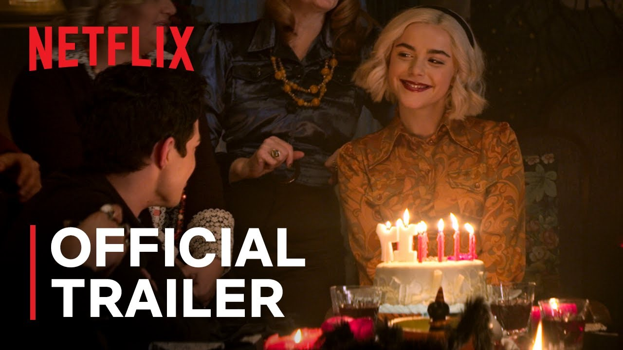 Chilling Adventures Of Sabrina Part 4 Official Trailer Netflix Youtube