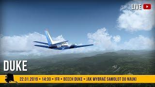 #55 | Duke nad Alaską | IFR | Jak wybrać samolot do nauki?