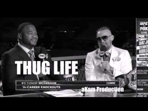 THUG LIFE - Conor Mcgregor Owns Rashad Evans