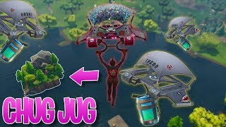 FORTNITE CHUG JUG GLITCH!! | STREAM HIGHLIGHTS #2! (Fortnite: Battle Royale)