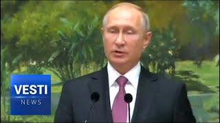 Live From Singapore! Putin's Speech Commemorates Opening of Orthodox Church in Asian City State