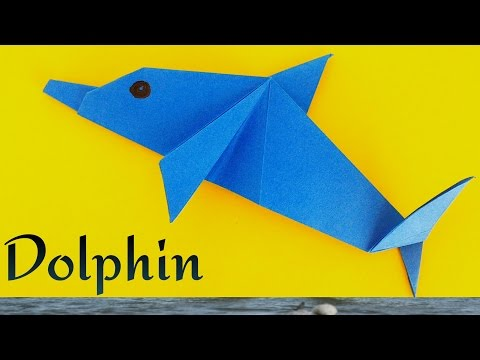 Dolphin - DIY Origami Tutorial by Paper Folds 🐬