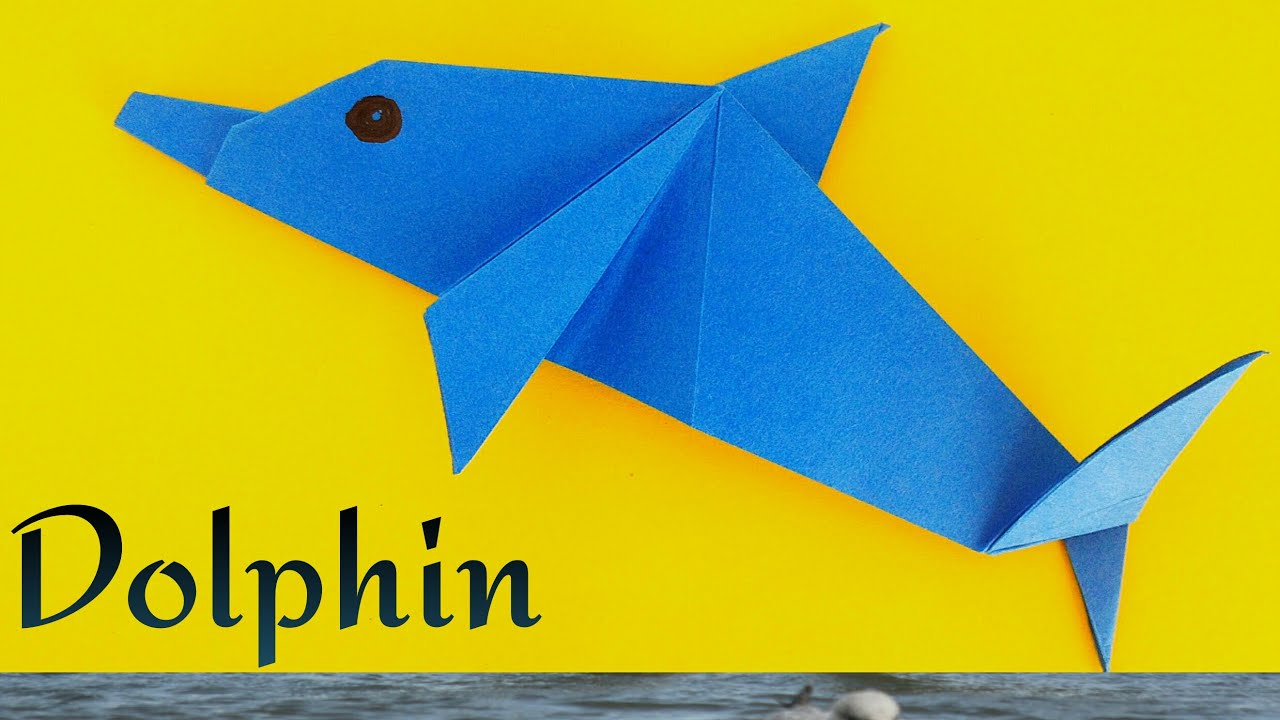 Dolphin - DIY Origami Tutorial by Paper Folds 🐬 - YouTube