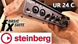 Аудиоинтерфейс STEINBERG ur24c с DSP процессором. РАСПАКОВКА, ОБЗОР и инструкция по ПОДКЛЮЧЕНИЮ.