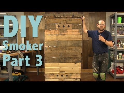 How to Build a Smokehouse With Pallets Part 3 of 3