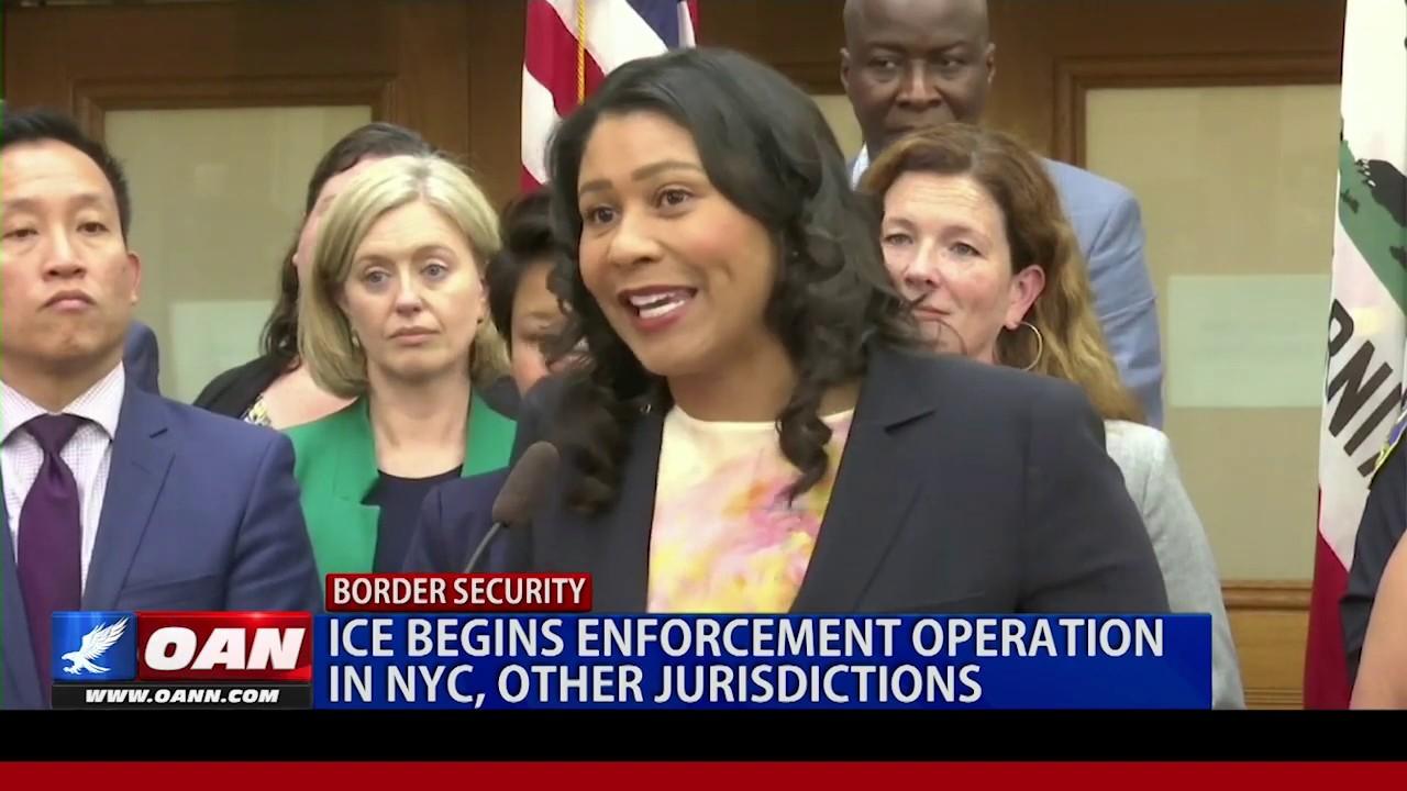 OAN ICE begins enforcement operations targeting illegal aliens