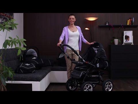 Bergsteiger Milano pram combi stroller (english)