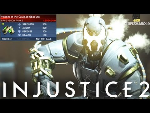 """Legendary Bane Ability Takes My Life... - Injustice 2 """"Bane"""" Legendary Gear Gameplay"""