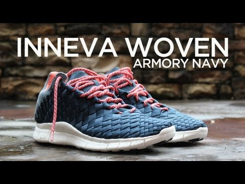 check out ced3e b49b3 Review  Nike Free Inneva Woven - Armory Navy - YouTube