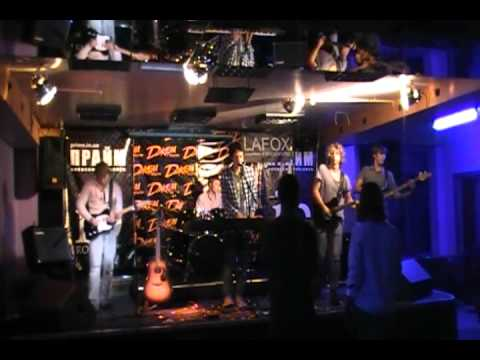 KBIHTA - Sunny (cover-funk-rock version), live Prime,Kiev , 4/10 (КВІНТА rock FAMILY)