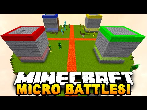 Minecraft MICRO BATTLES 'SKY PRANK!' #22 - w/ PrestonPlayz & Kenny - Видео из Майнкрафт (Minecraft)