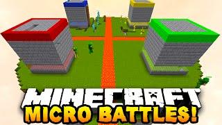 Minecraft MICRO BATTLES 'SKY PRANK!' #22 - w/ PrestonPlayz & Kenny