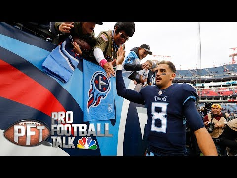 How Mariota, Titans knew how to carve up Patriots' defense I Pro Football Talk I NBC Sports
