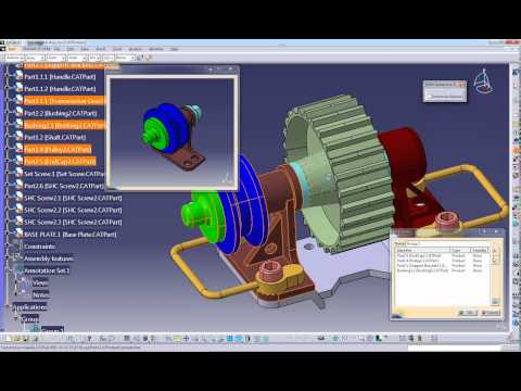 CATIA V5 - How to create Groups