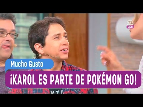 karol es parte de pokémon go - Mucho Gusto 2016