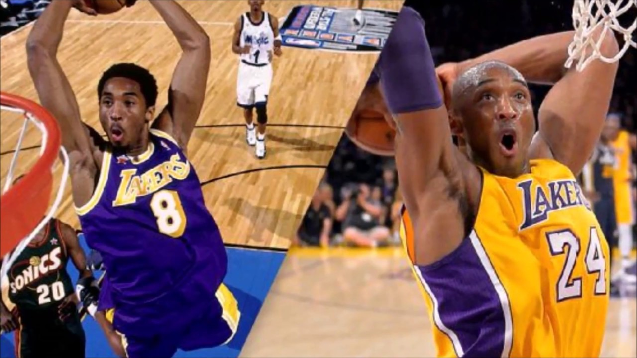fbbf84fe3 Kobe Bryant s No. 8   No. 24 Jerseys Both Will Be Retired by Lakers ...