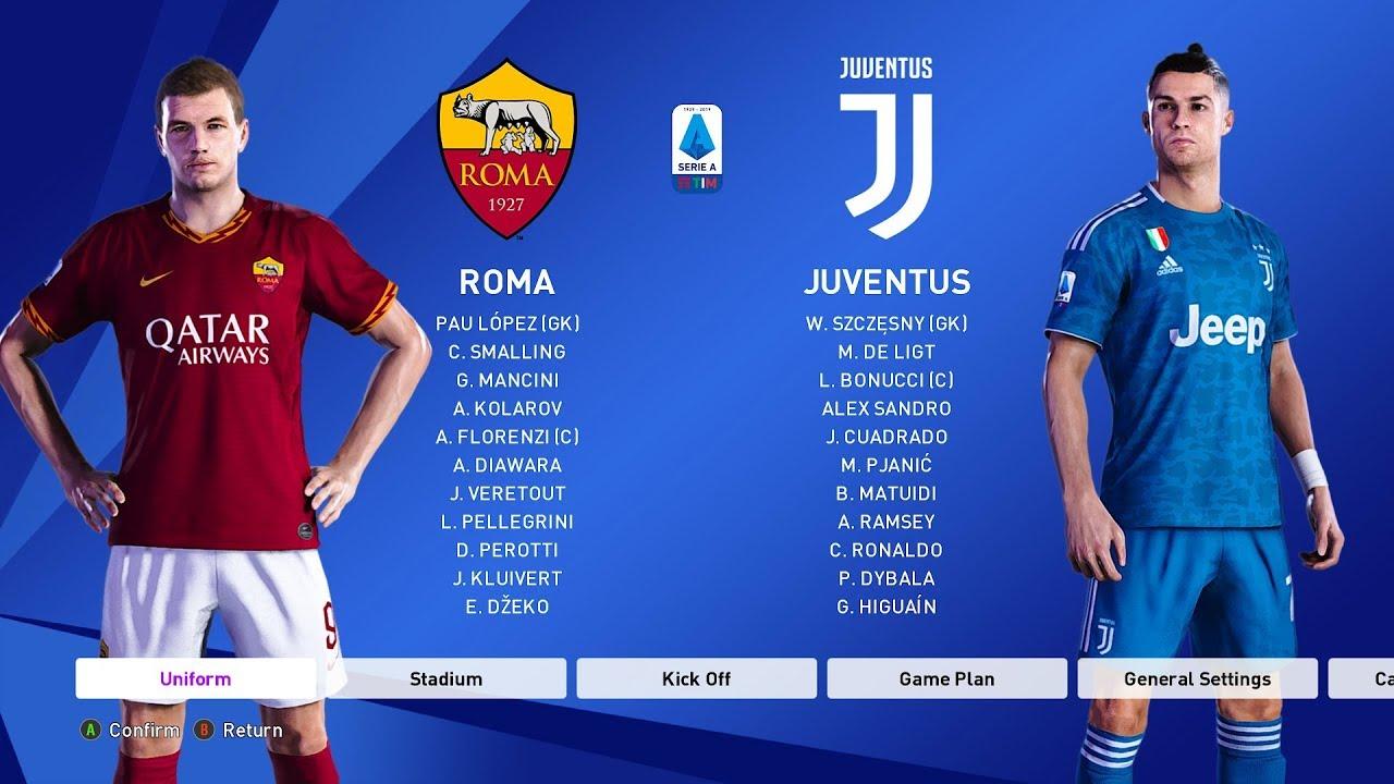 Roma vs Juventus 1-2