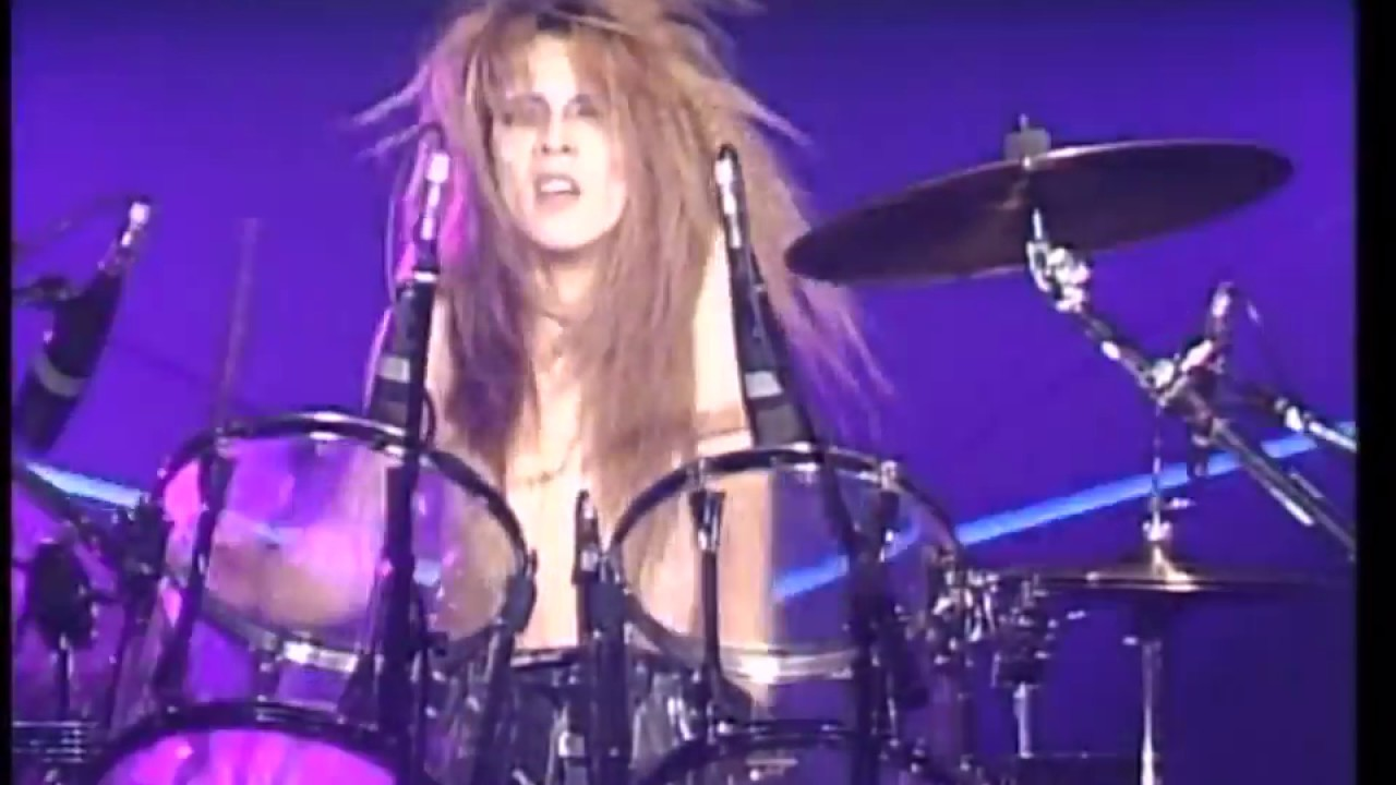 X JAPAN エックス・ジャパン (X) , Yoshiki Drum Solo