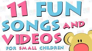 Fun Collection of Nursery Rhymes and Songs for Small Children Preschool Kindergarten Colors Shapes S